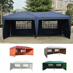 Outdoor 10'x20' EZ POP UP Gazebo Wedding Party Tent Canopy F