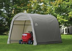 OUTDOOR PORTABLE SHED Canopy Storage Car Port Garage 10 x 10