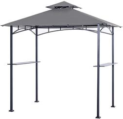 Outdoor Tent Barbecue BBQ Grill Backyard Patio Deck Canopy C