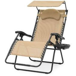 Best Choice Products Oversized Zero Gravity Reclining Lounge
