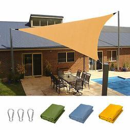 Waterproof Sun Shade Sail UV Patio Garden Outdoor Top Canopy