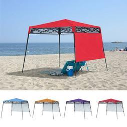 Portable Shade Canopy 7x7 Pop Up Gazebo Beach Garden Outdoor