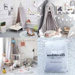 Princess Bed Canopy For Kids Baby Round Dome Indoor Outdoor