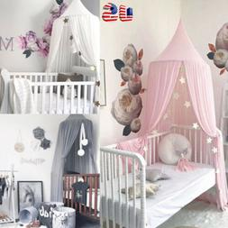 Princess Bed Kids Canopy Hanging Dome Lace Mosquito Net for