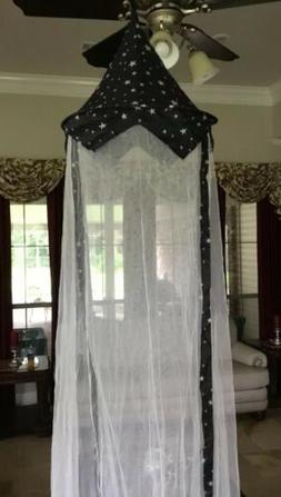 Princess Canopy for Girls Bed – Girl's Room Baldachin An