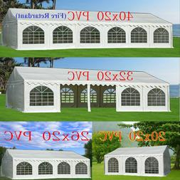 PVC Party Tent  - Wedding Carport Canopy 40'x20'/32'x20' and
