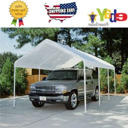 Replacement Canopy - White - 10' x 20', Carport Cover Tent.