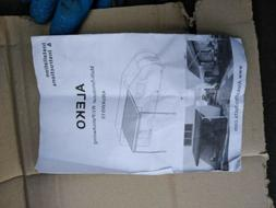 ALEKO Retractable RV Home Patio Canopy Awning, White Fade Co