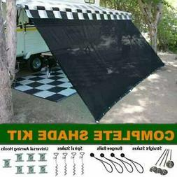 EZ Travel Collection RV Awning Shade Kit RV Shade Complete K