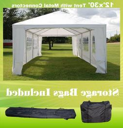 SAVE $$$ 12'x30' Wedding Party Tent Canopy with Metal Connec