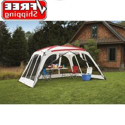 Screen House Canopy Tent 14x12 for Outdoor Sun Shade Beach C