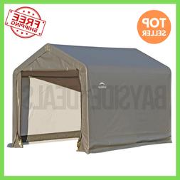 ShelterLogic Shed-In-A-Box Canopy Utility Storage Shed 6L x