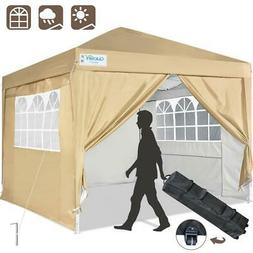 Quictent 10x10 Outdoor Wedding Party Tent Gazebo EZ Pop Up C