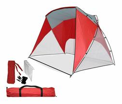 Caravan Canopy Sport Shelter, Red  End of Summer Clearance S