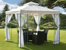 Sturdy and Attractive 8 Ft. W x 8 Ft. D Metal Patio Gazebo C