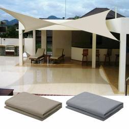 Sun Shade Sail Real Waterproof Garden Patio Canopy UV Block
