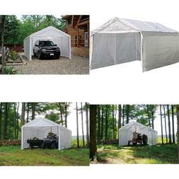 Shelterlogic Super Max 12 Ft. X 20 Ft. White Canopy Enclosur