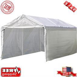 ShelterLogic 12'x20' Super Max Canopy Enclosure Kit in White