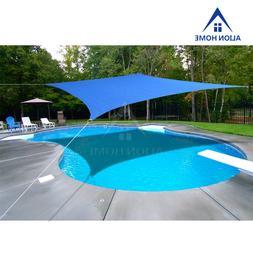 Alion Home© Terylene Waterproof Sun Shade Sail - Royal Blue