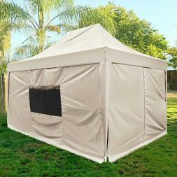 Upgraded Quictent 10x15 EZ Pop Up Canopy Party Tent with Sid