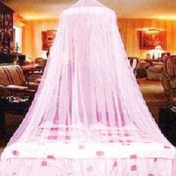 US Princess Mosquito Net Lace Dome Bed Canopy for Children G