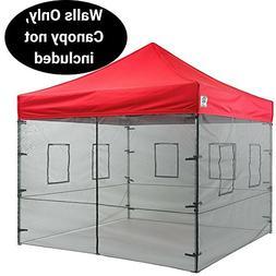 Impact Canopy 10 x 10 Canopy Tent Walls, Food Service Mesh S