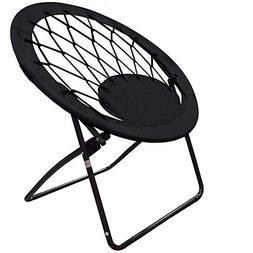 Impact Canopy Bungee Chair, Portable Folding Chair, Web, Bla