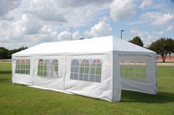 Wedding Party Tent Gazebo Canopy w Metal Connectors - Three