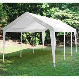 White Canopy Replacement Cover Vehicle Truck Patio Yard Shad