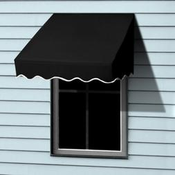 Aleko Window Awning Door Canopy Decorator, 4 feet x 2 feet,