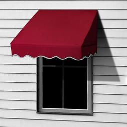 Aleko Window Awning Door Canopy Decorator, 4 feet x 2 feet,